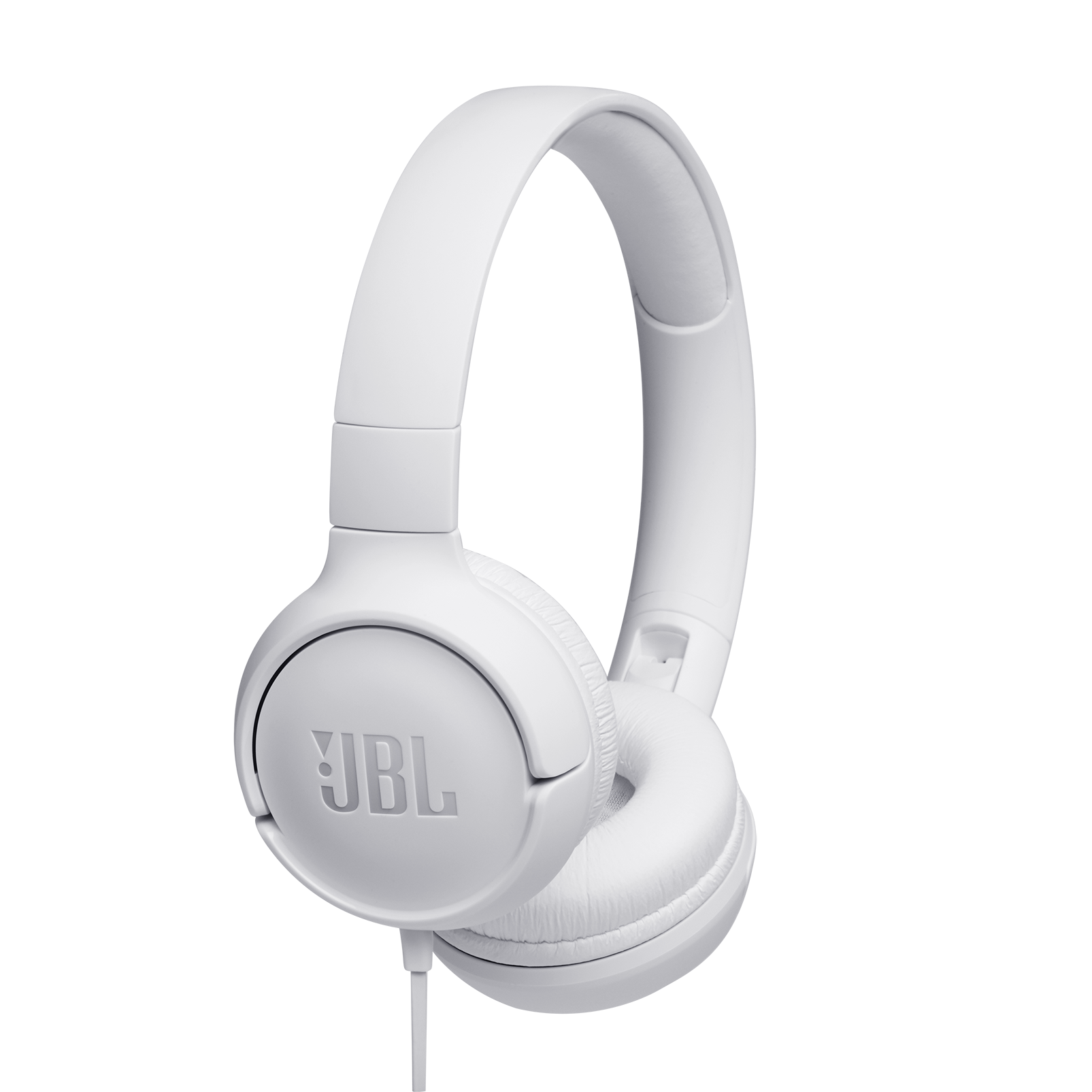 JBL TUNE 500 - White - Wired on-ear headphones - Hero