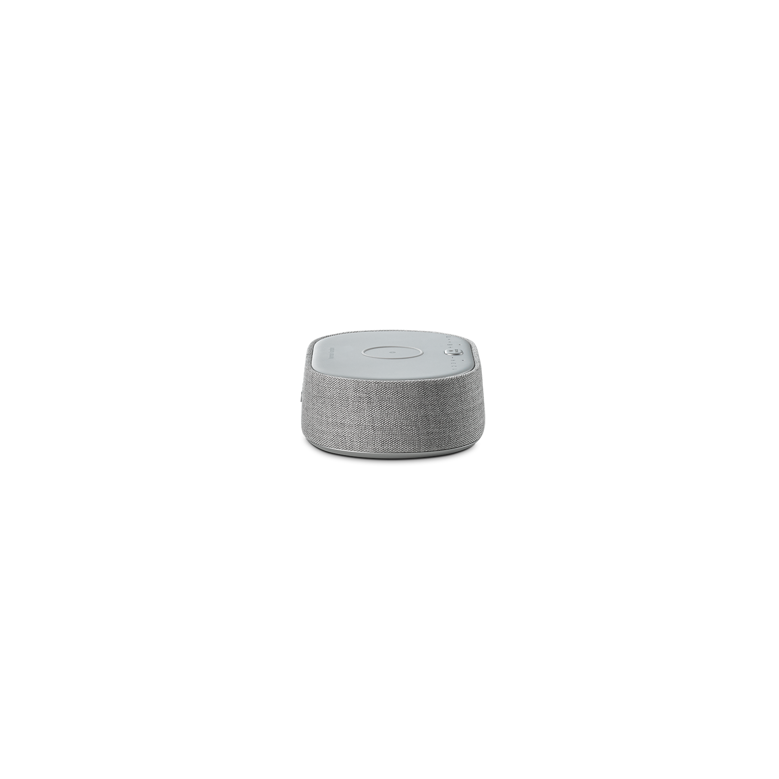 Harman Kardon Citation Oasis DAB - Grey - Voice-controlled speaker with DAB/DAB+ radio and wireless phone charging - Left
