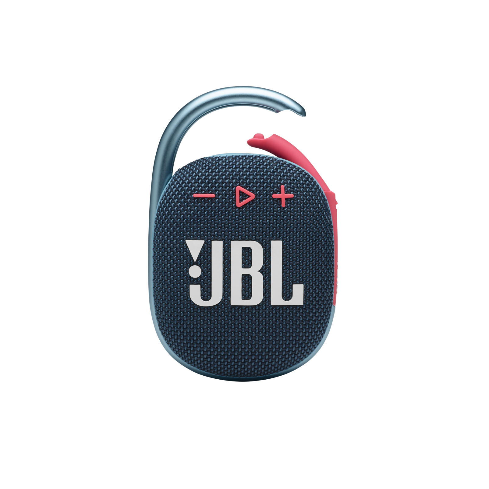 JBL CLIP 4 - Blue / Pink - Ultra-portable Waterproof Speaker - Front