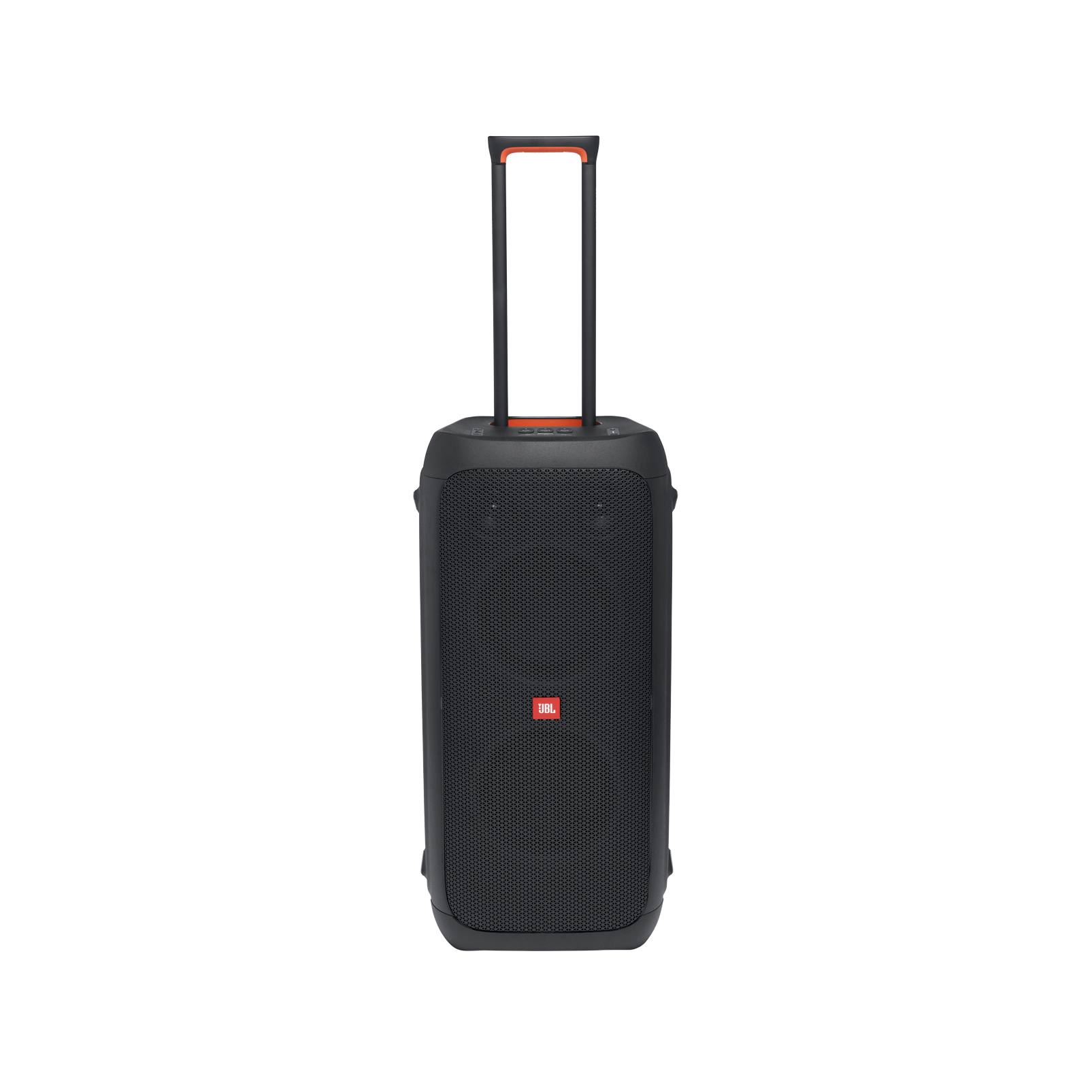 JBL Partybox 310 + Mic - Black - Portable party speaker with 240W powerful sound, built-in lightshow and wired mic - Front