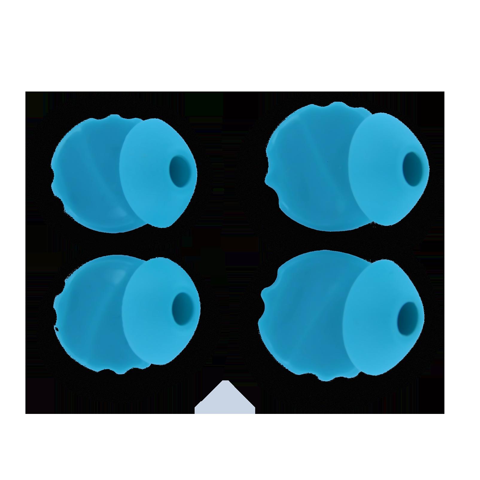 JBL Ear tips for Focus/Inspire 500, 700 - Blue - Ear tips (L+R) - Hero