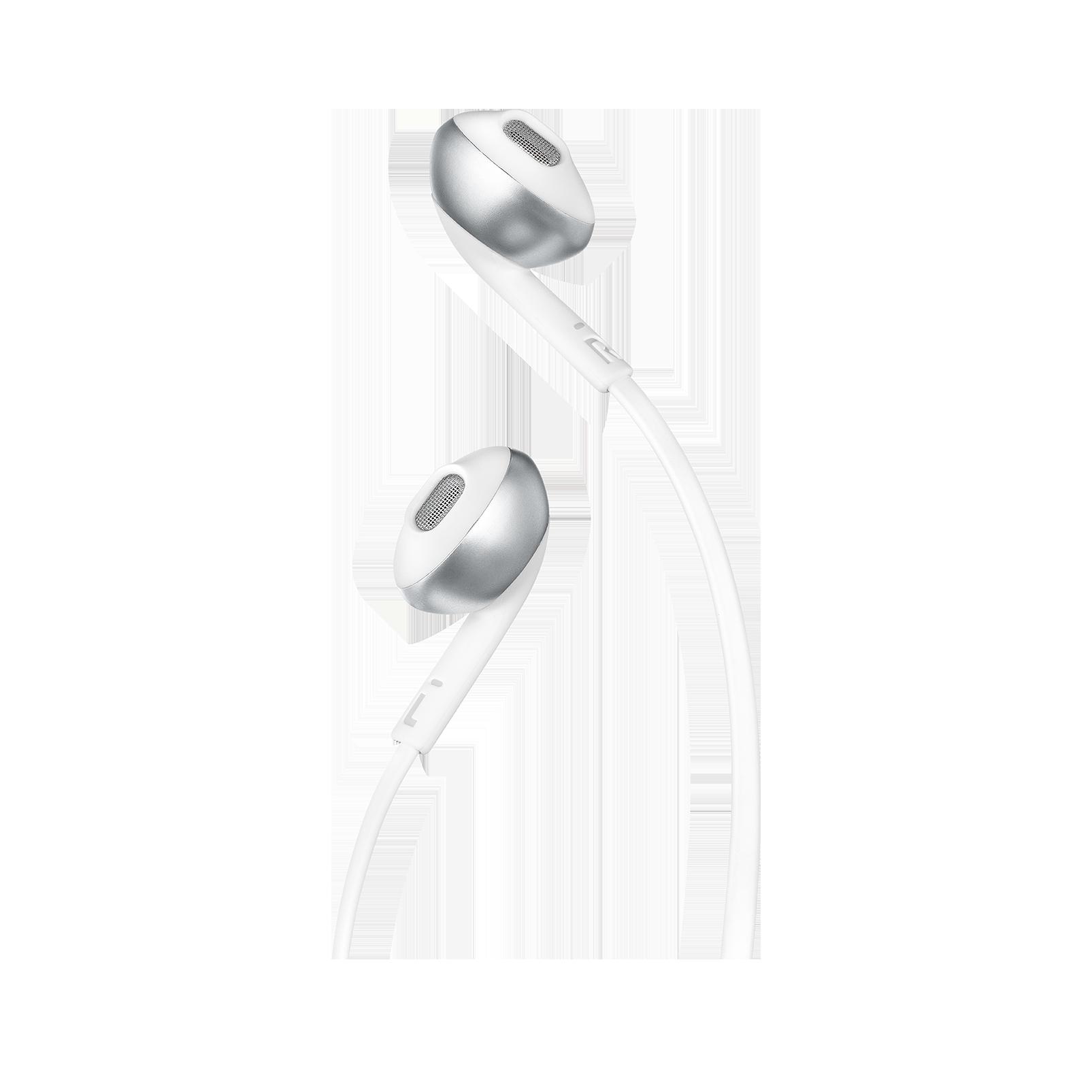 JBL TUNE 205BT - Silver - Wireless Earbud headphones - Detailshot 1