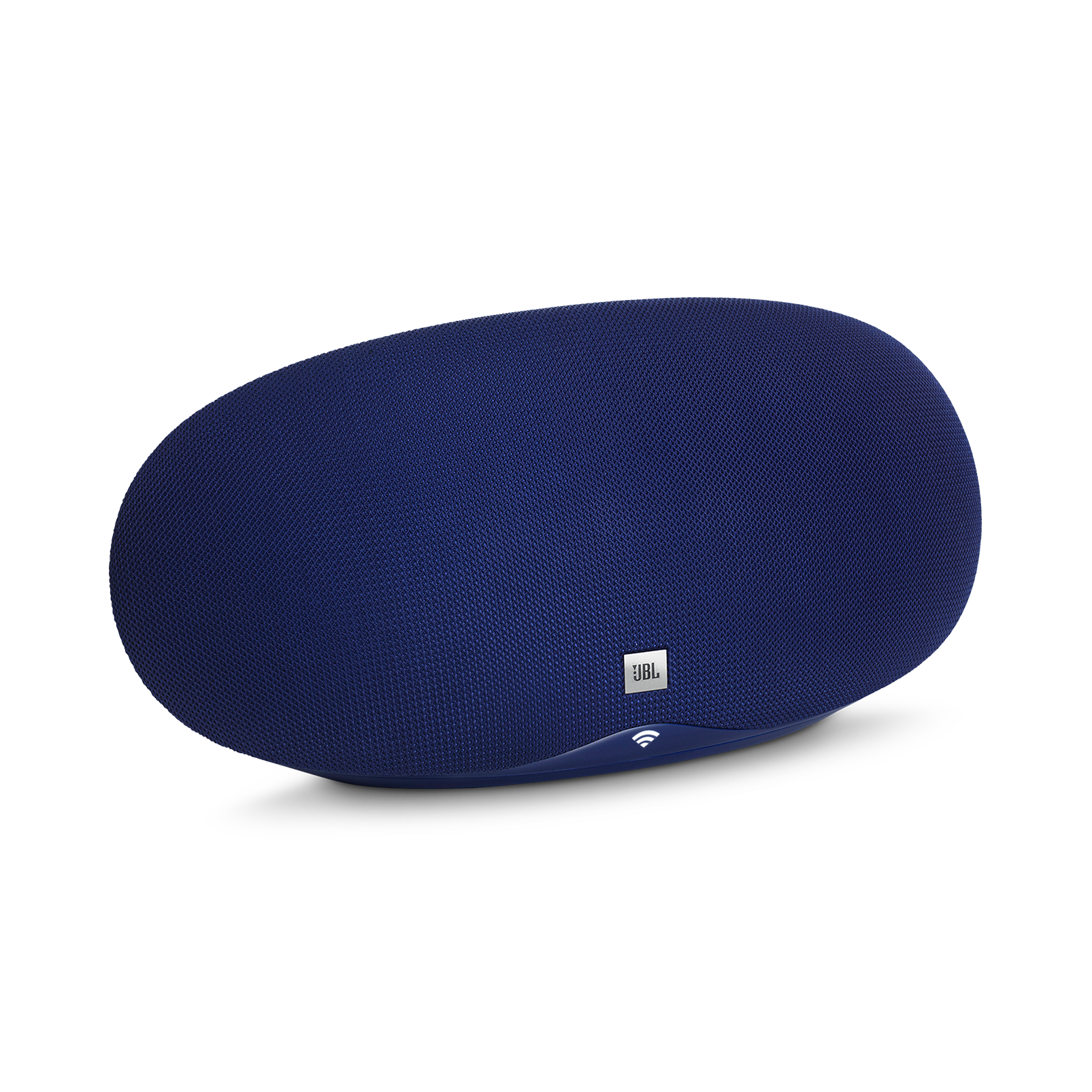 JBL Playlist - Blue - Wireless speaker with Chromecast built-in - Hero