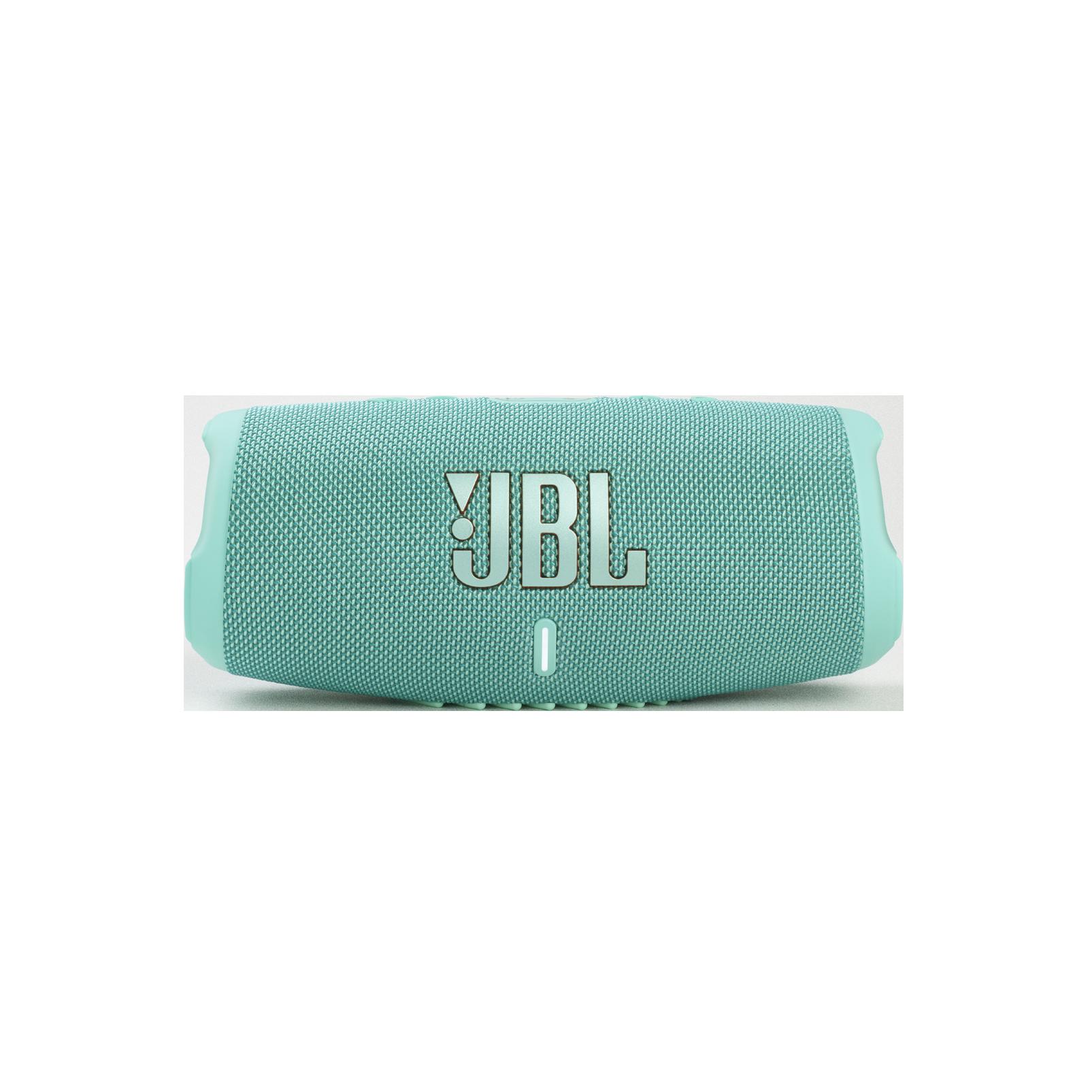 JBL CHARGE 5 - Teal - Portable Waterproof Speaker with Powerbank - Front