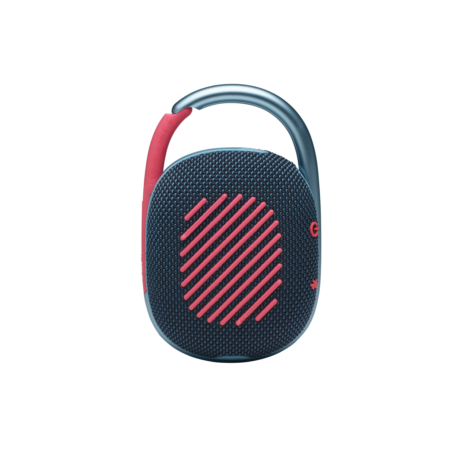 JBL CLIP 4 - Blue / Pink - Ultra-portable Waterproof Speaker - Back