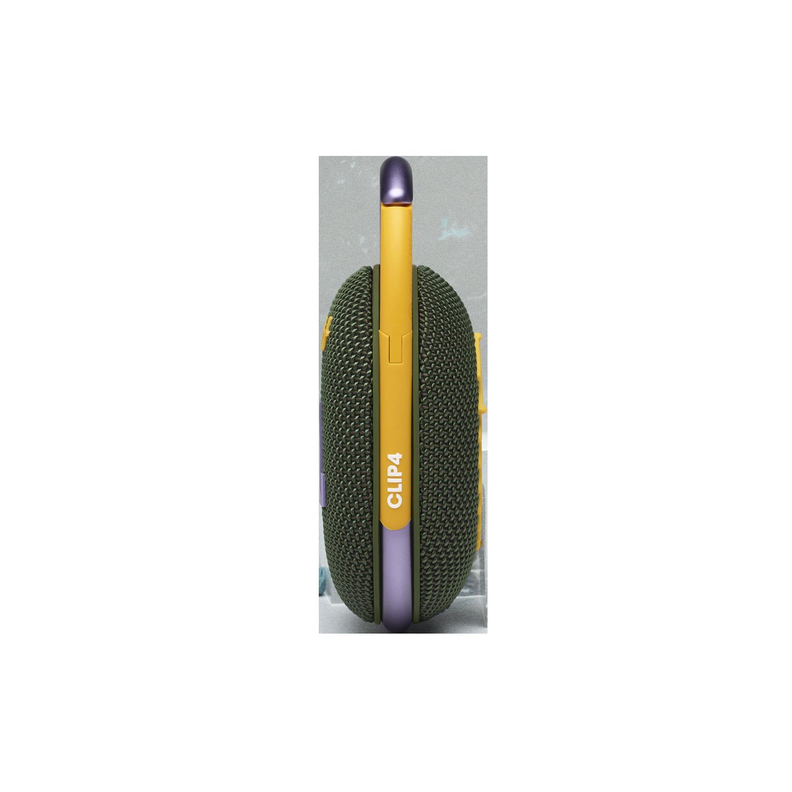 JBL CLIP 4 - Green - Ultra-portable Waterproof Speaker - Right