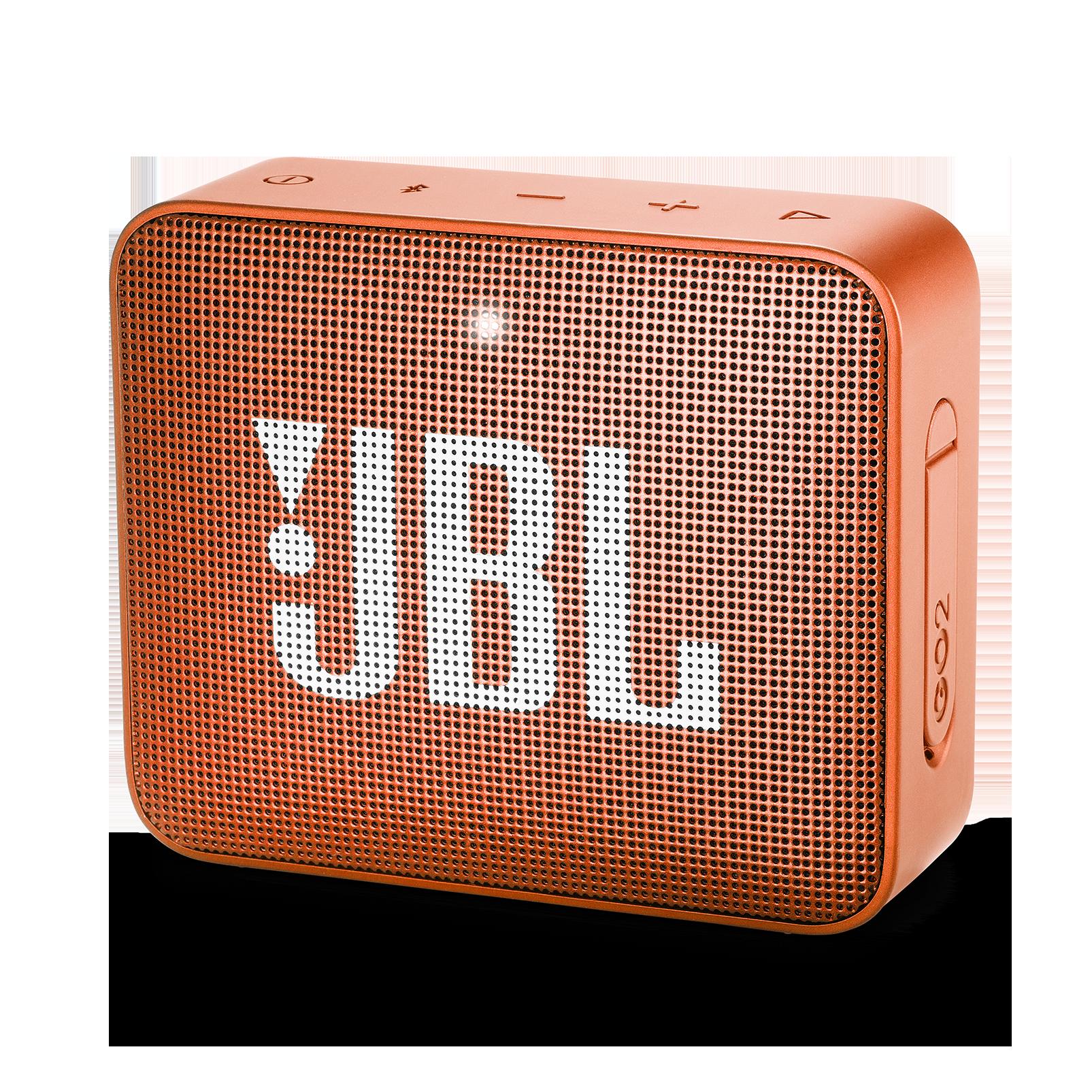 JBL GO 2 - Coral Orange - Portable Bluetooth speaker - Hero
