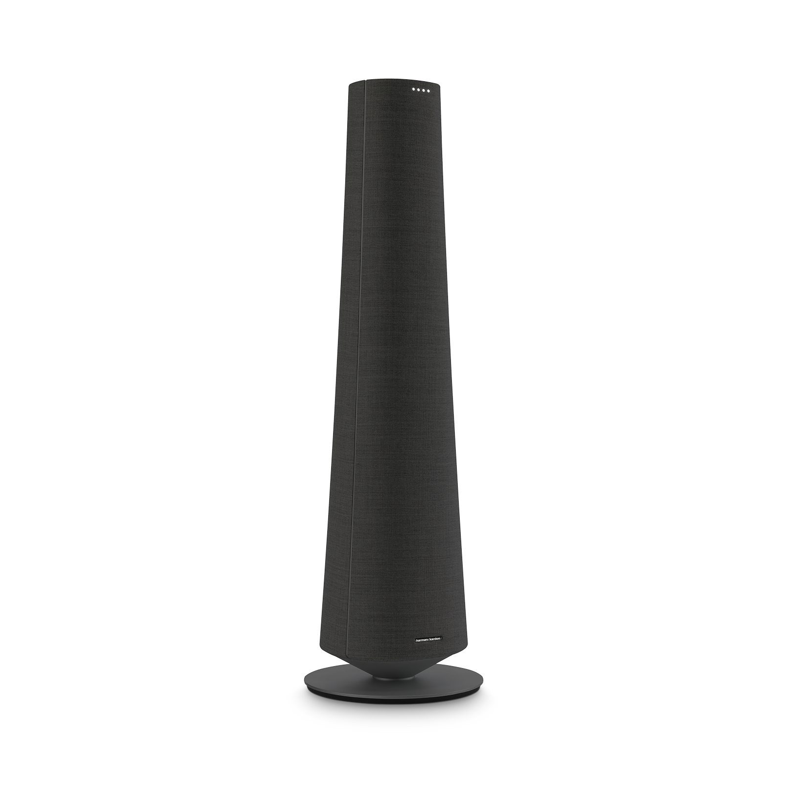 Harman Kardon Citation Tower - Black - Smart Premium Floorstanding Speaker that delivers an impactful performance - Detailshot 2