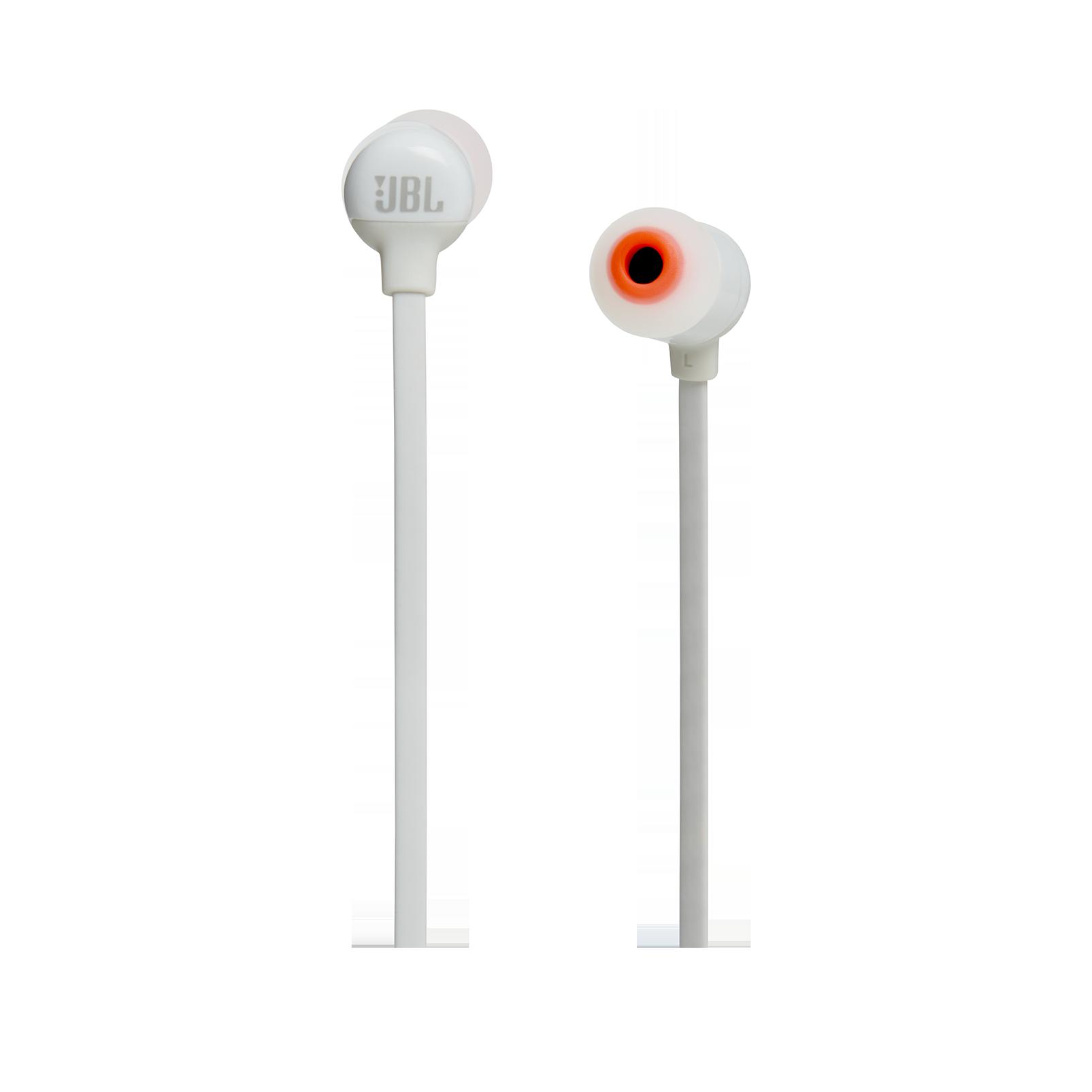 JBL TUNE 160BT - White - Wireless in-ear headphones - Front