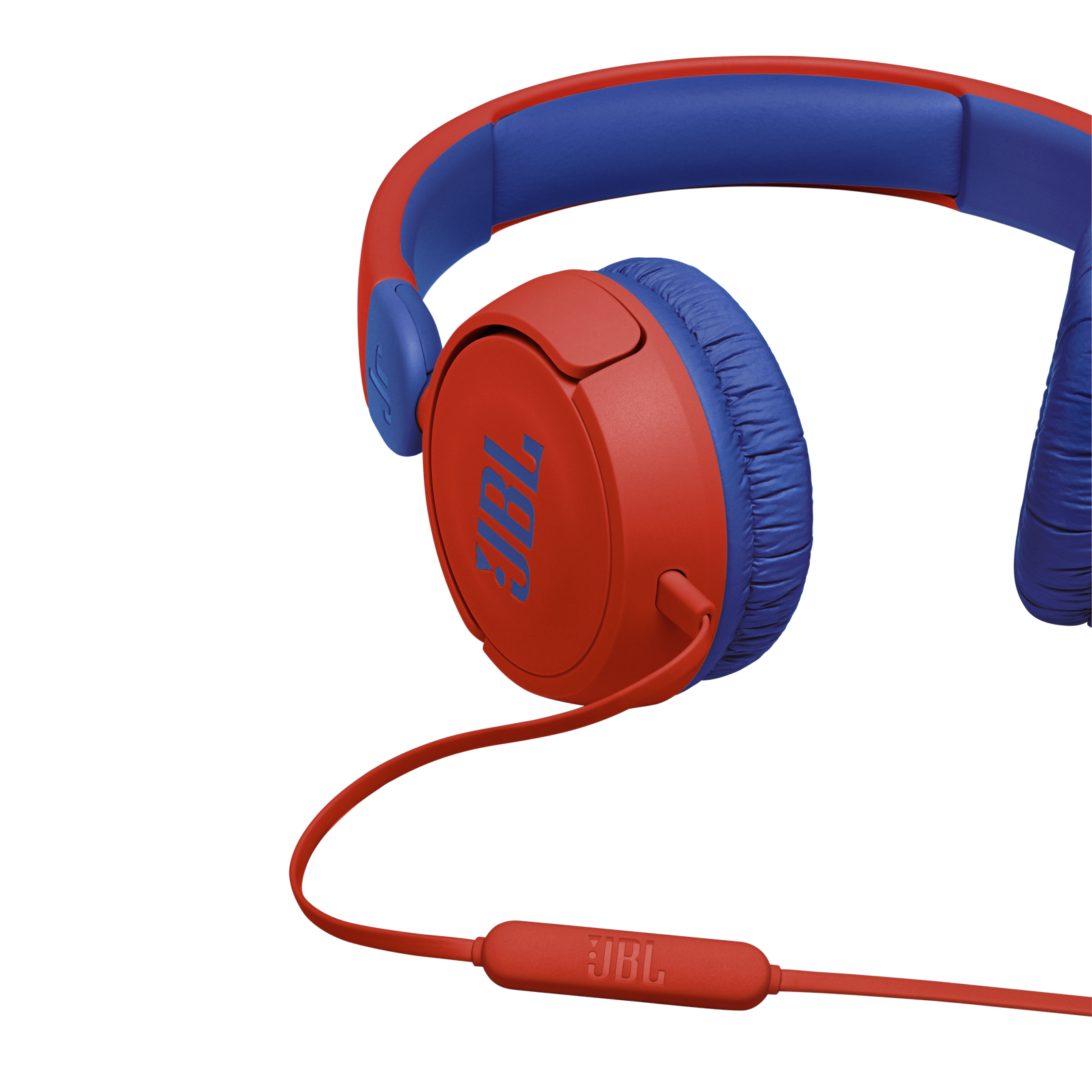 JBL Jr310 - Red - Kids on-ear Headphones - Detailshot 2