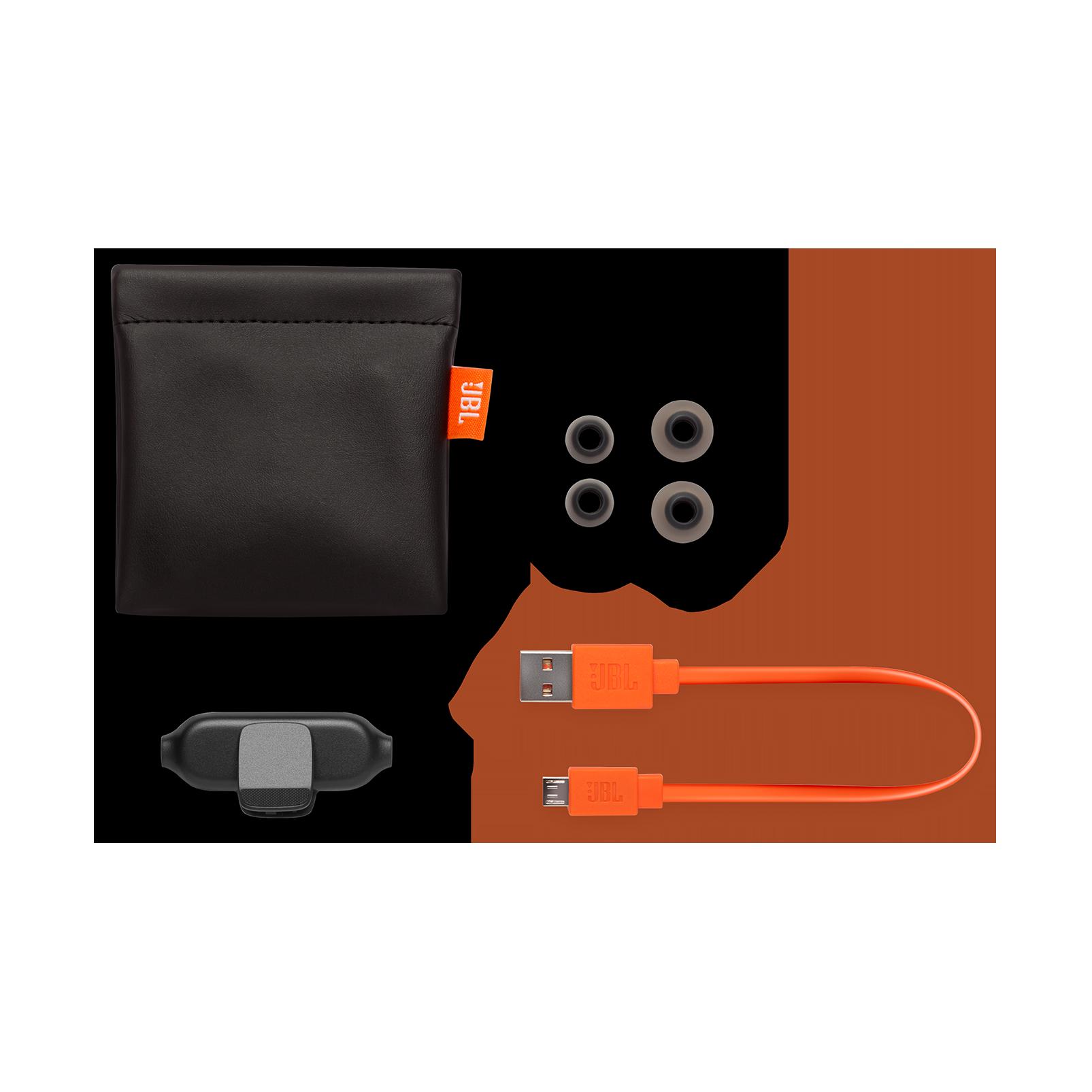 E25BT - Black - Wireless in-ear headphones - Detailshot 4