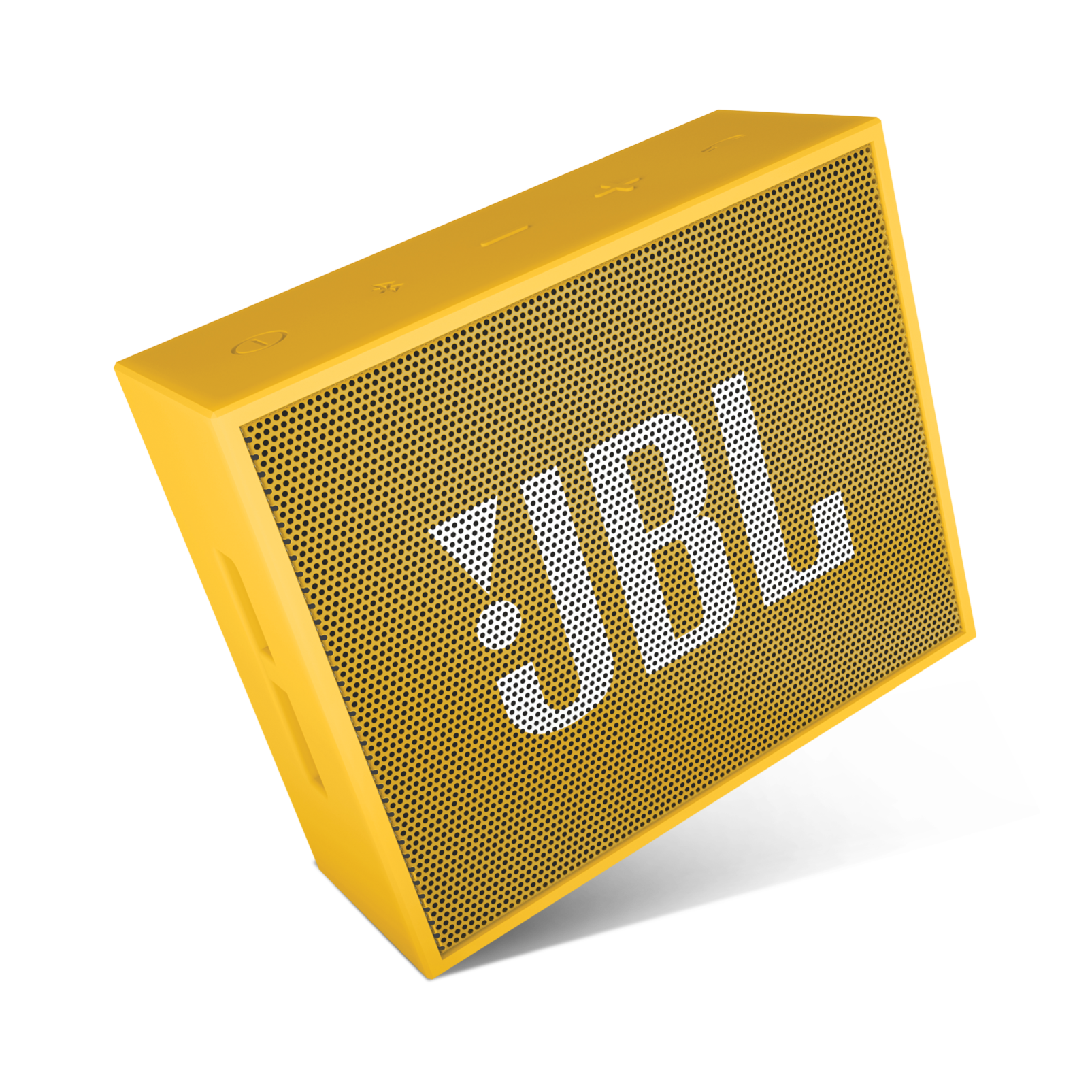 JBL GO - Yellow - Full-featured, great-sounding, great-value portable speaker - Detailshot 3
