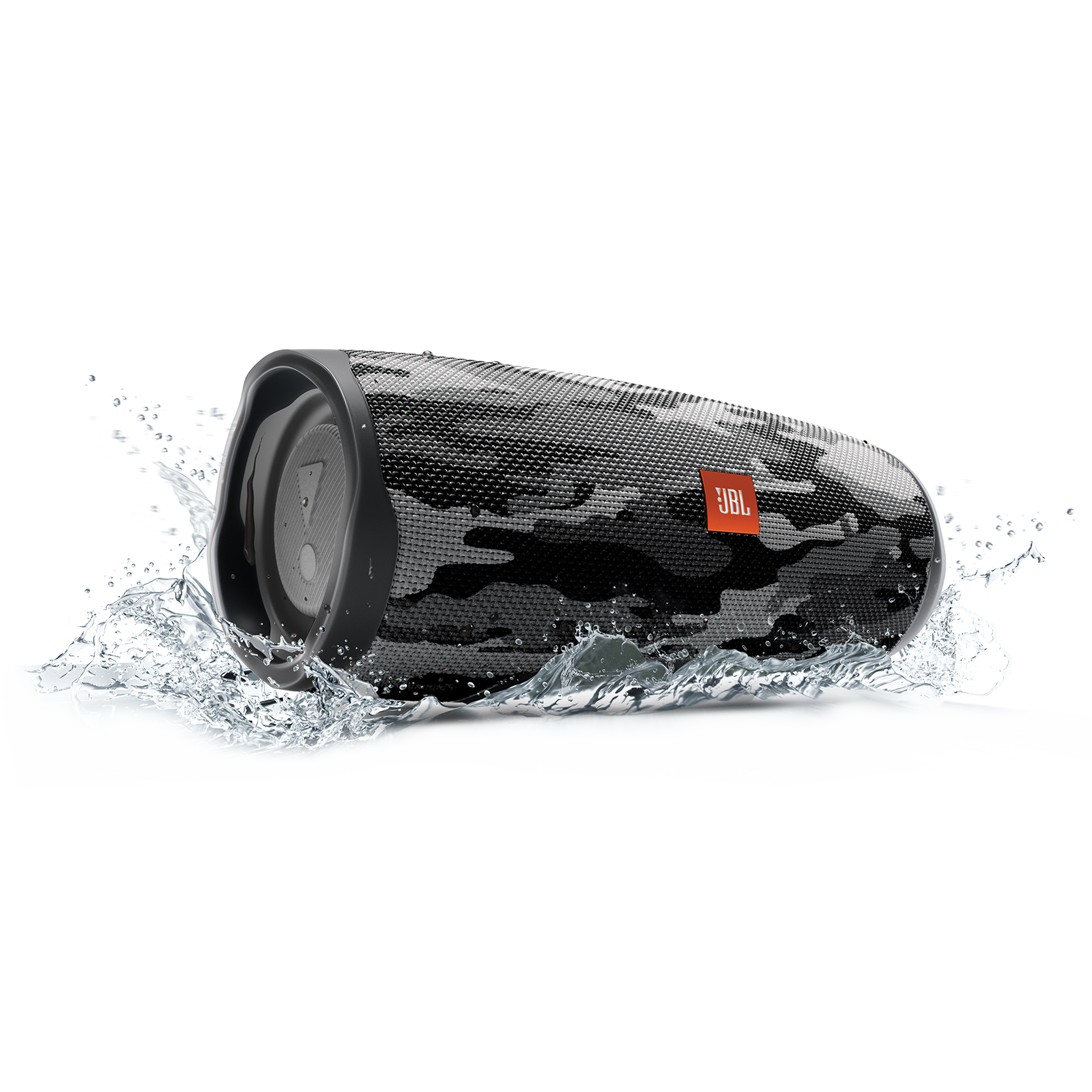 JBL Charge 4 - Black/White Camouflage - Portable Bluetooth speaker - Detailshot 5