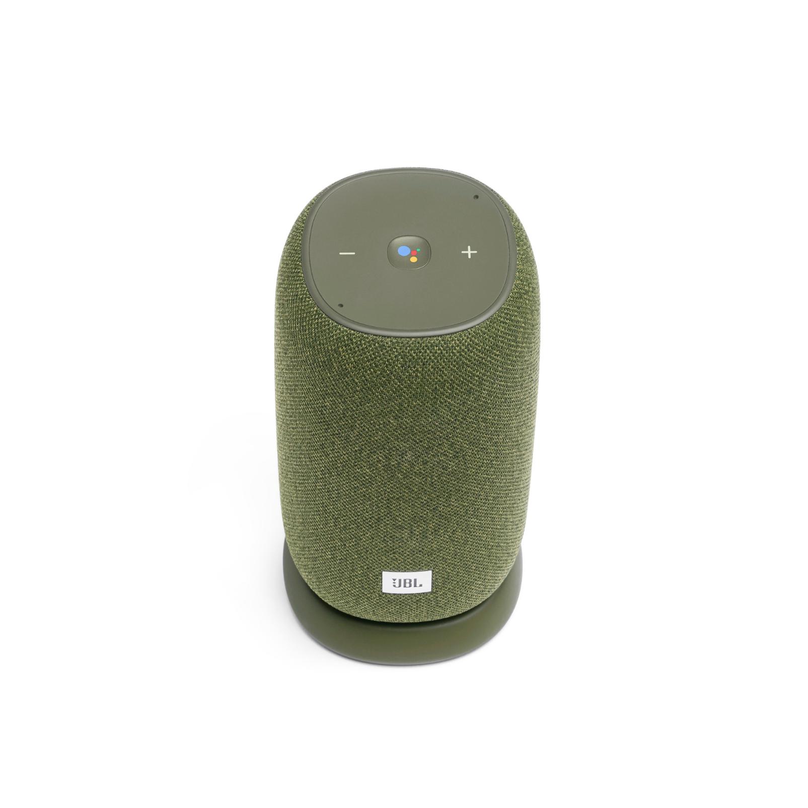JBL Link Portable - Green - Portable Wi-Fi Speaker - Front