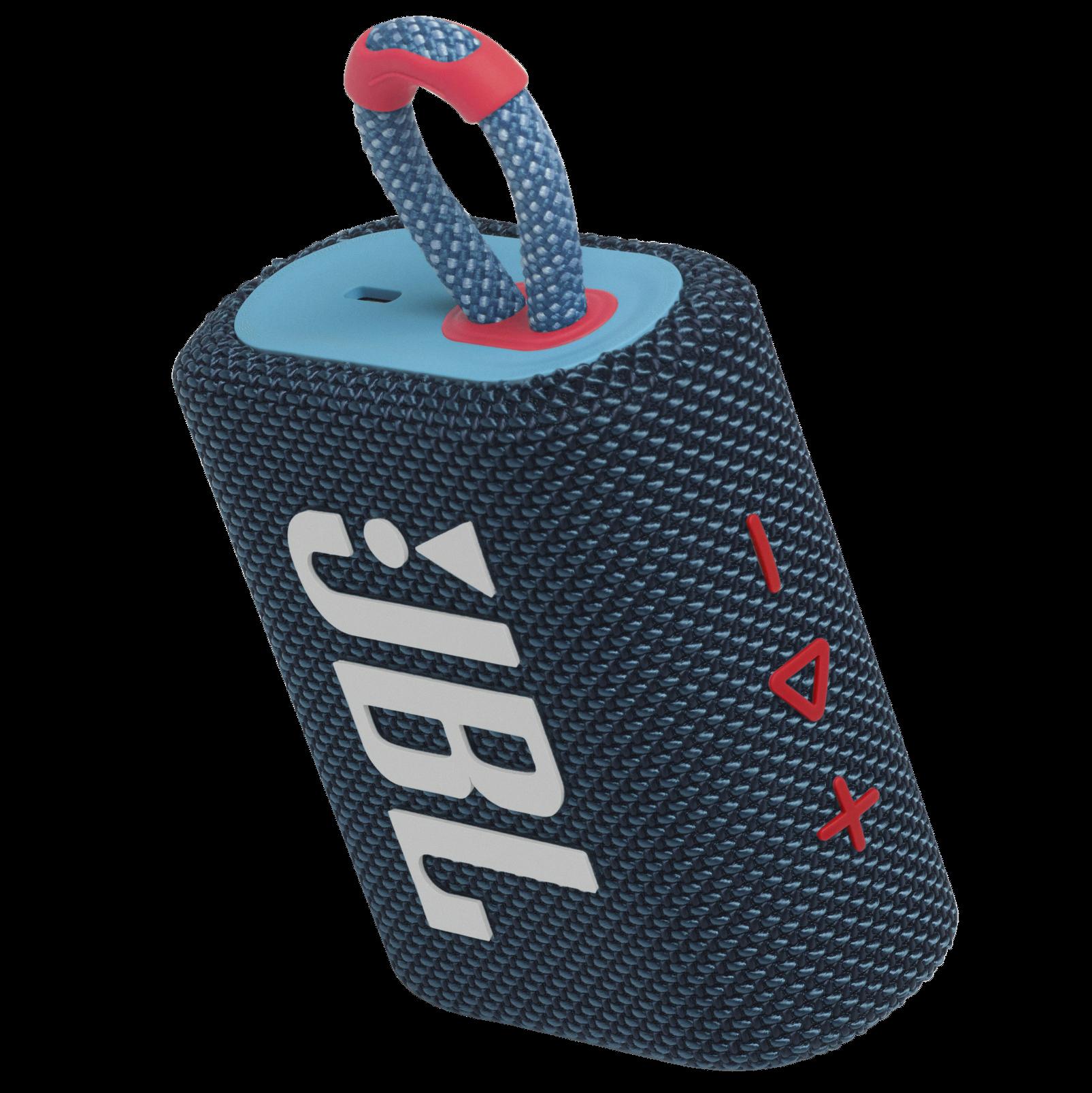 JBL Go 3 - Blue / Pink - Portable Waterproof Speaker - Detailshot 2