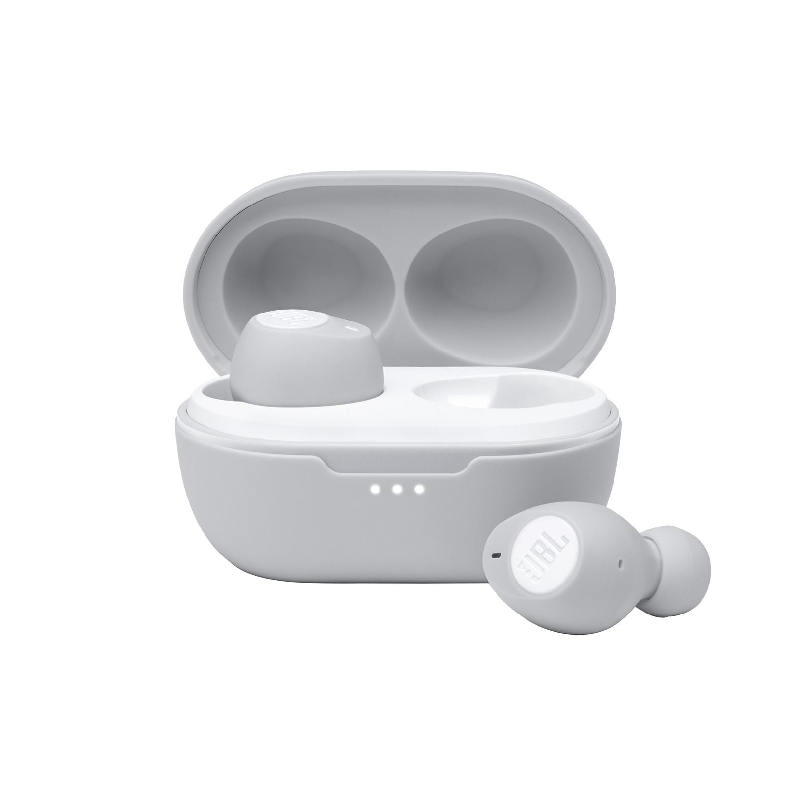JBL Tune 115TWS - White - True wireless earbuds - Hero
