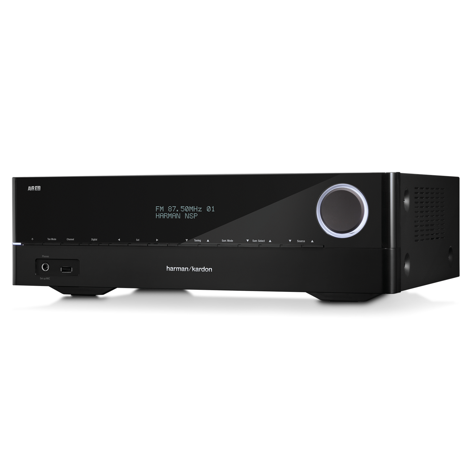 AVR 161 - Black - 425-watt, 5.1-channel, networked AVR with Bluetooth connectivity - Detailshot 2