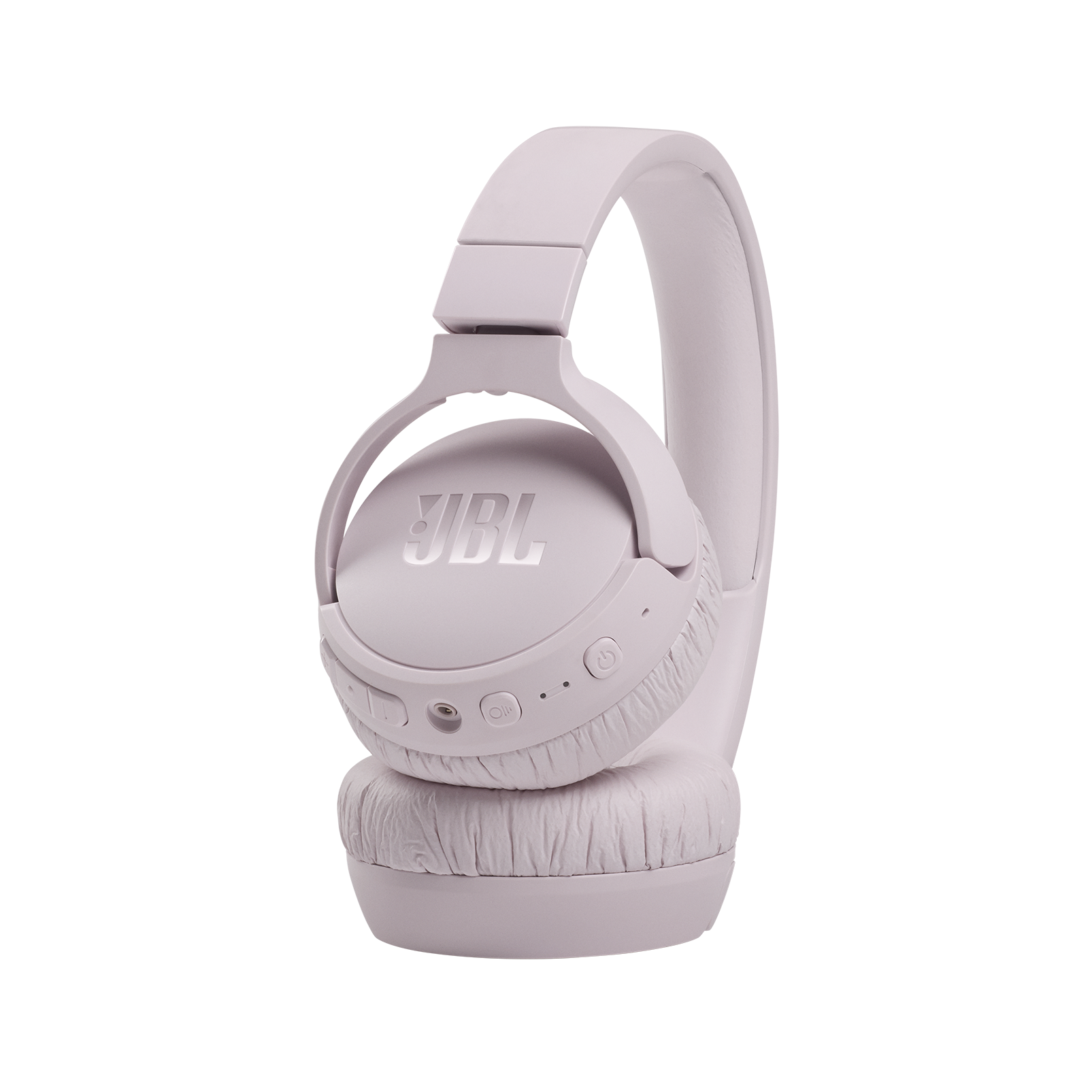 JBL Tune 660NC - Pink - Wireless, on-ear, active noise-cancelling headphones. - Detailshot 4