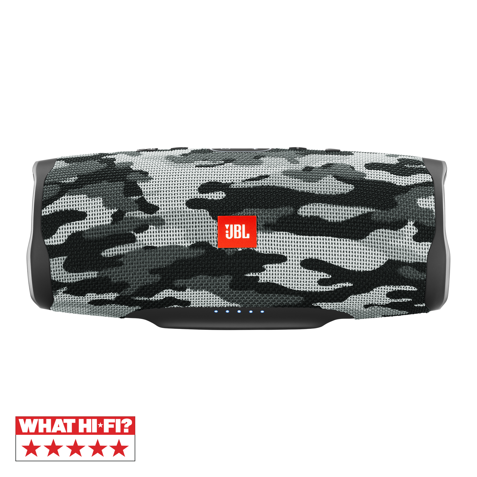JBL Charge 4 - Black/White Camouflage - Portable Bluetooth speaker - Hero