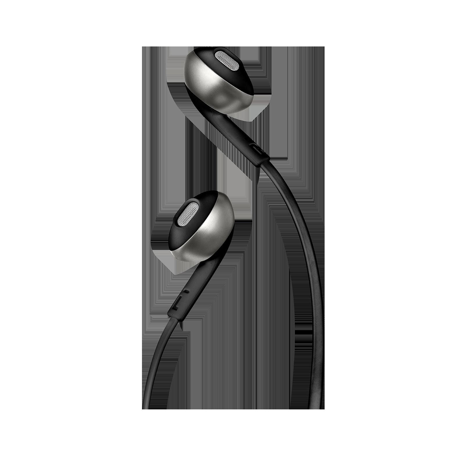 JBL TUNE 205BT - Black - Wireless Earbud headphones - Detailshot 1