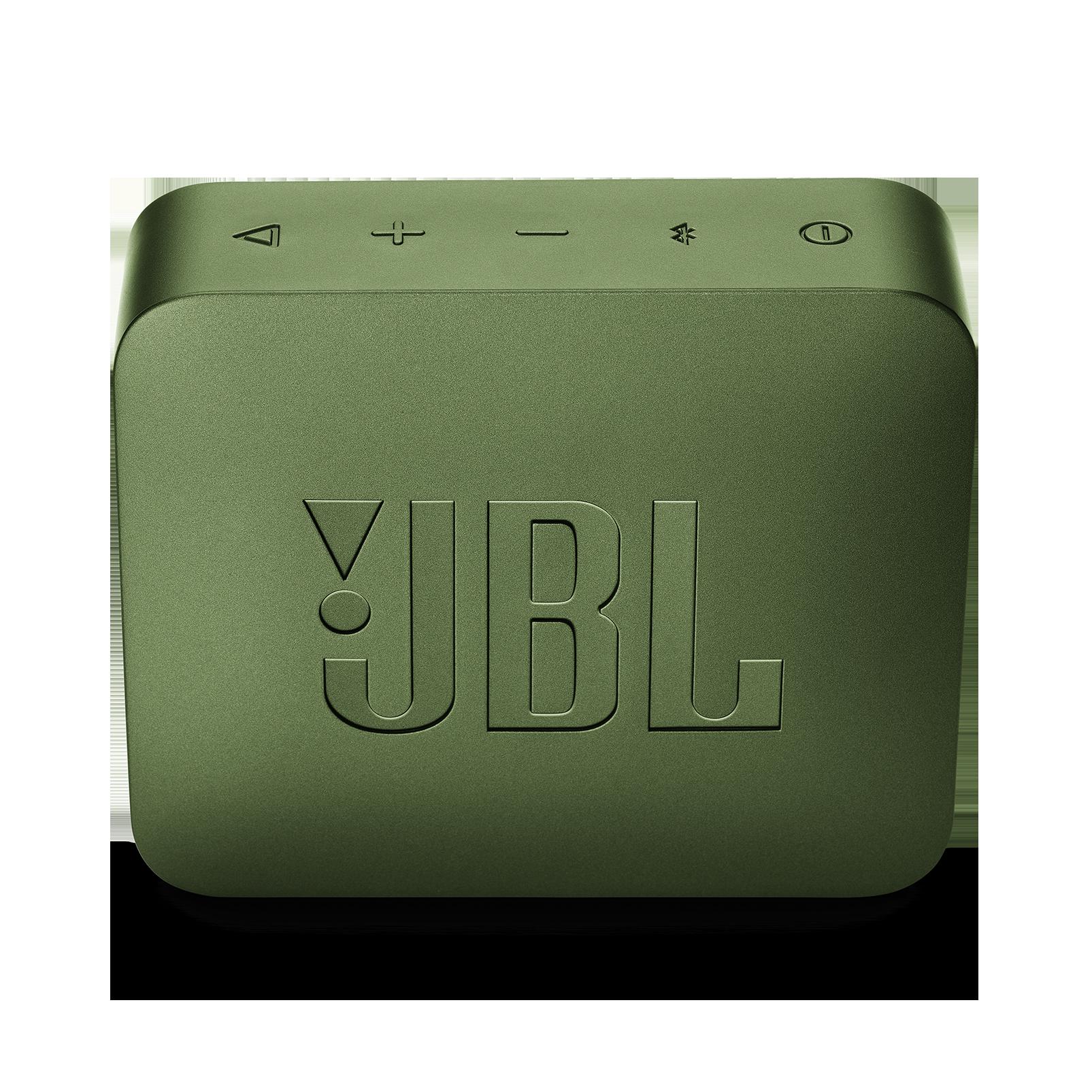 JBL GO 2 - Moss Green - Portable Bluetooth speaker - Back
