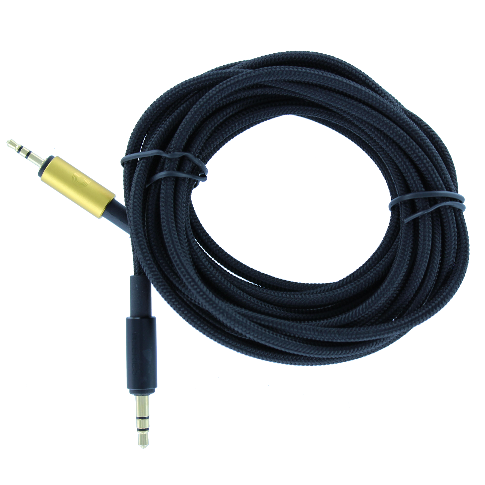 Cable straight, 300cm, AKG N90 - Black - Audio cable 300 cm - Hero