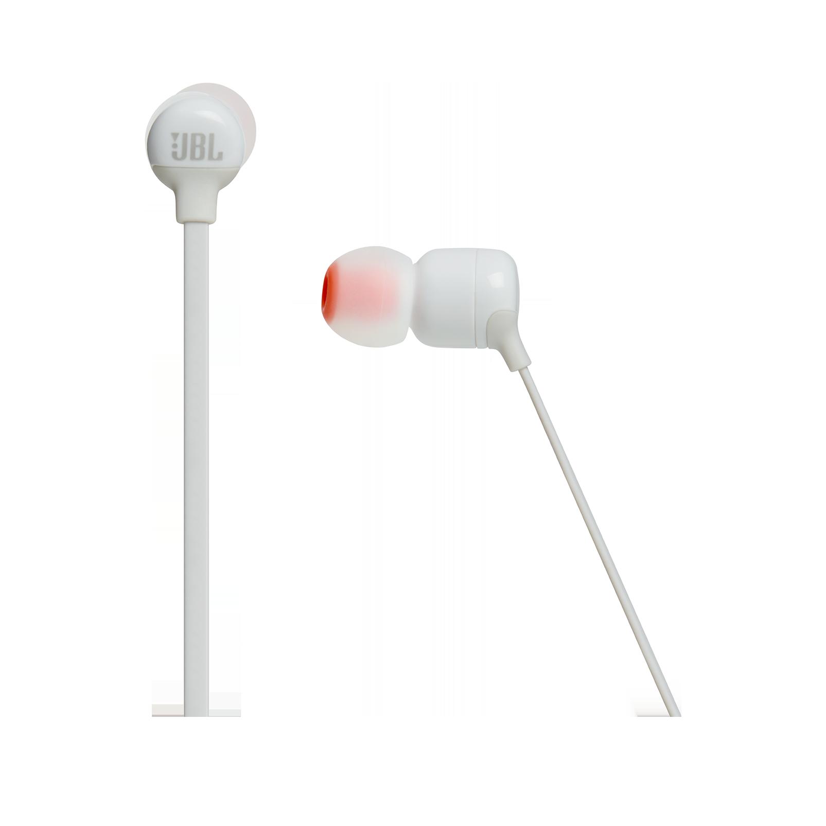 JBL TUNE 110BT - White - Wireless in-ear headphones - Detailshot 3