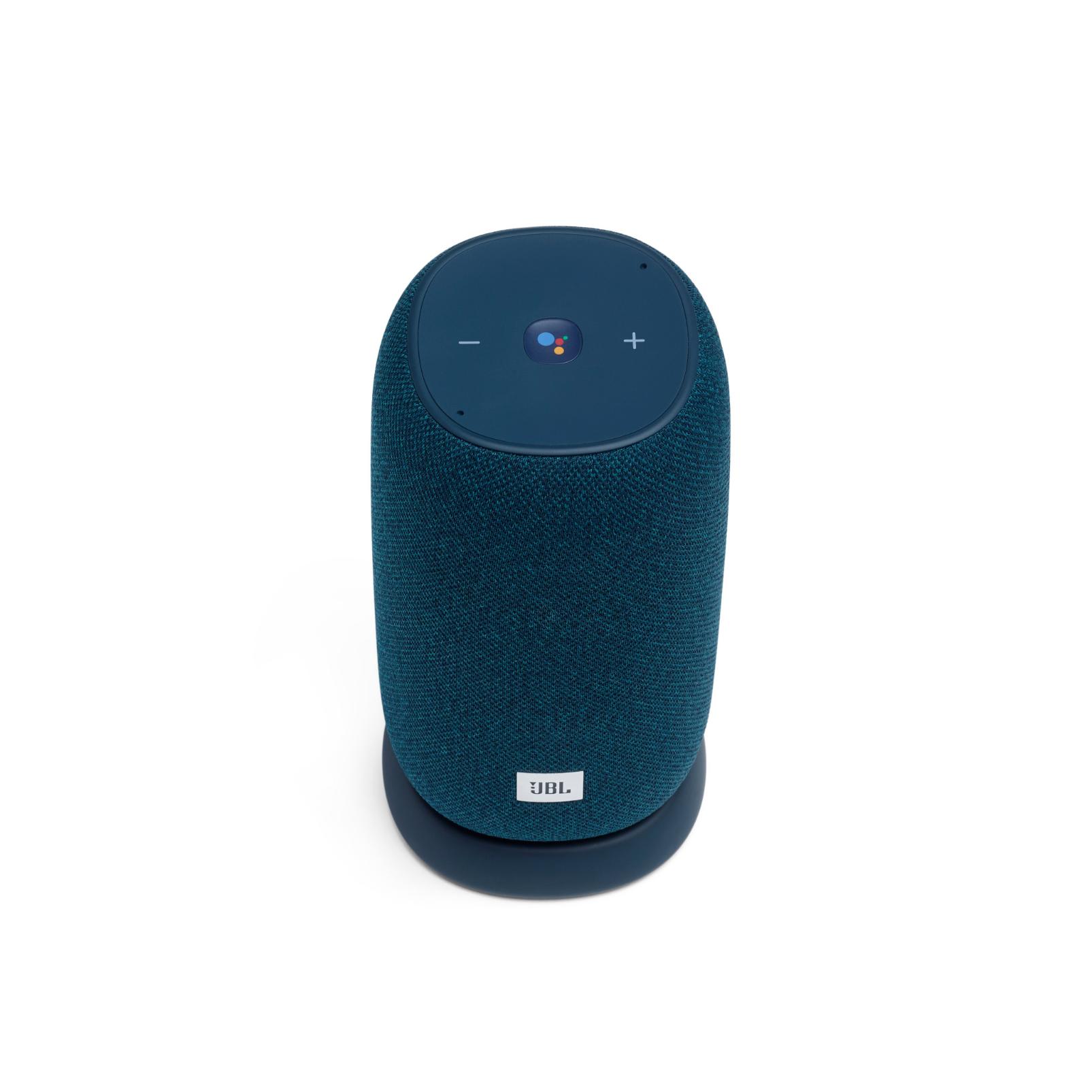 JBL Link Portable - Blue - Portable Wi-Fi Speaker - Front