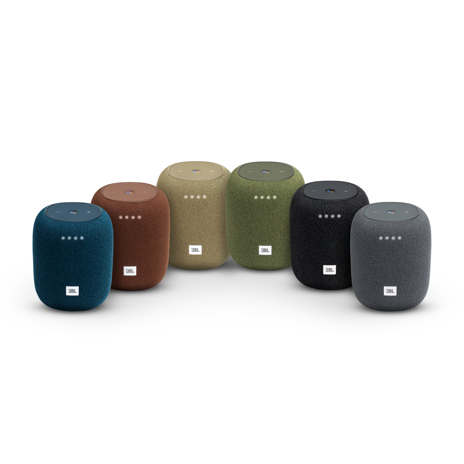JBL Link Music - Brown - Wi-Fi speaker - Detailshot 2