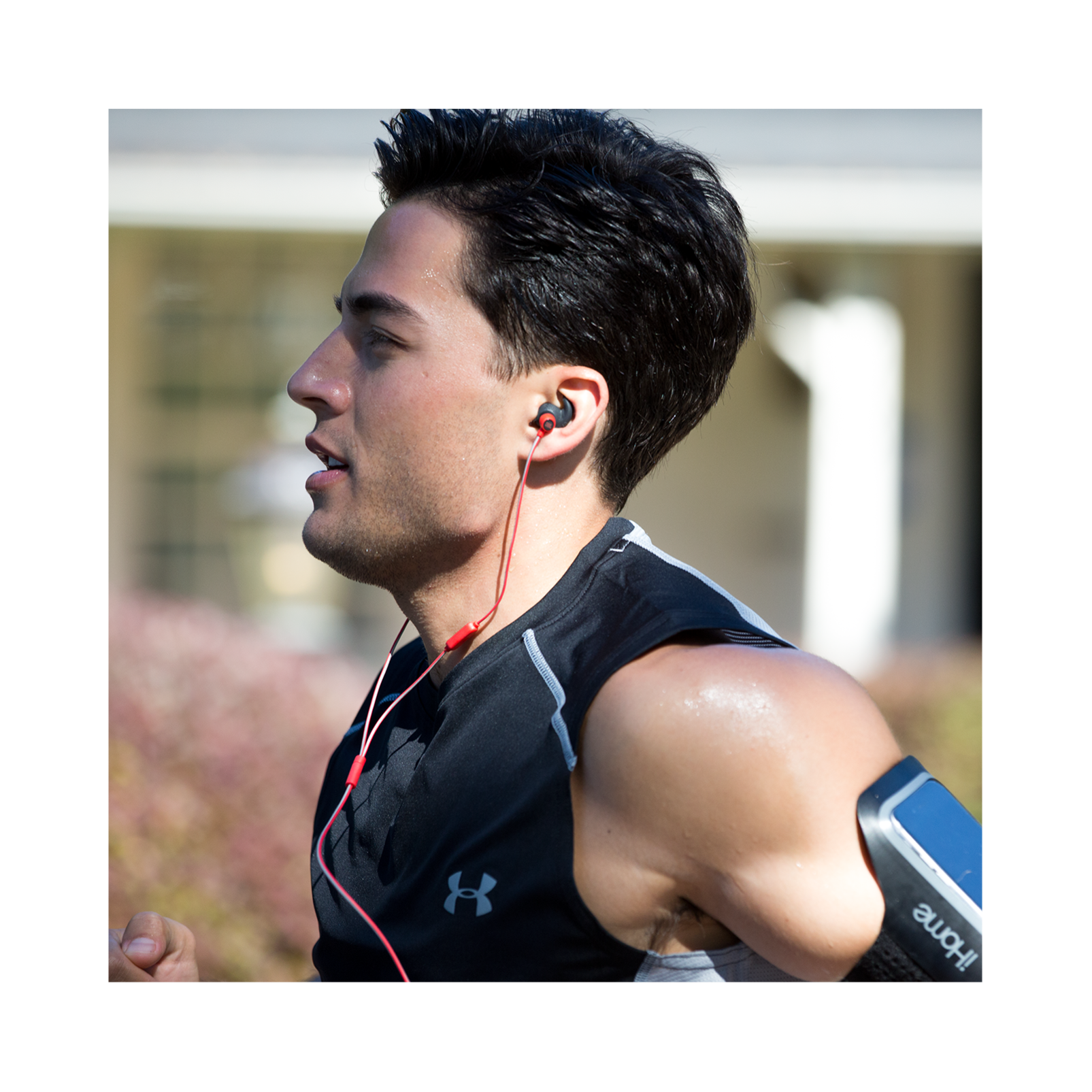Reflect Mini - Teal - Lightweight, in-ear sport headphones - Detailshot 16