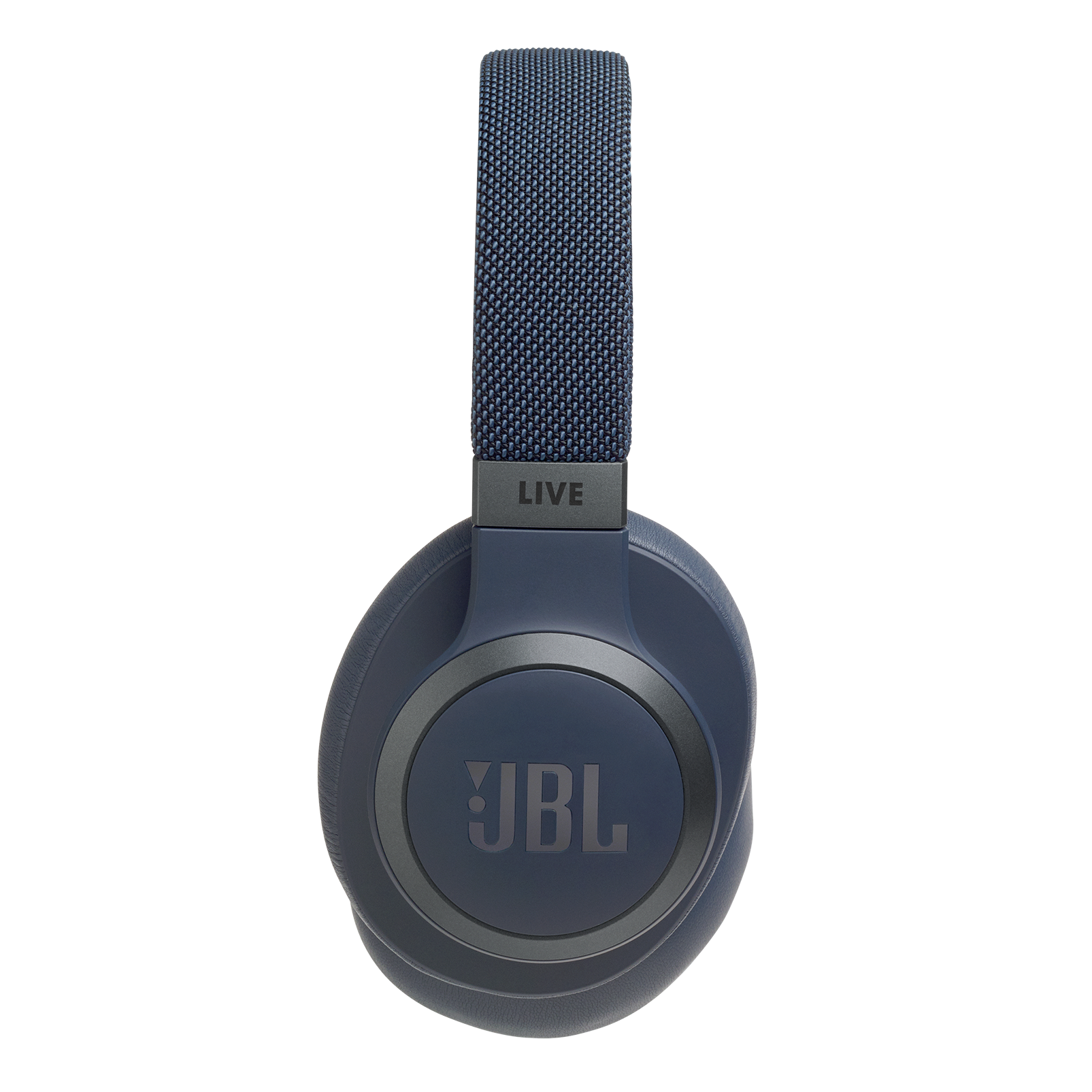 JBL LIVE 650BTNC - Blue - Wireless Over-Ear Noise-Cancelling Headphones - Detailshot 9