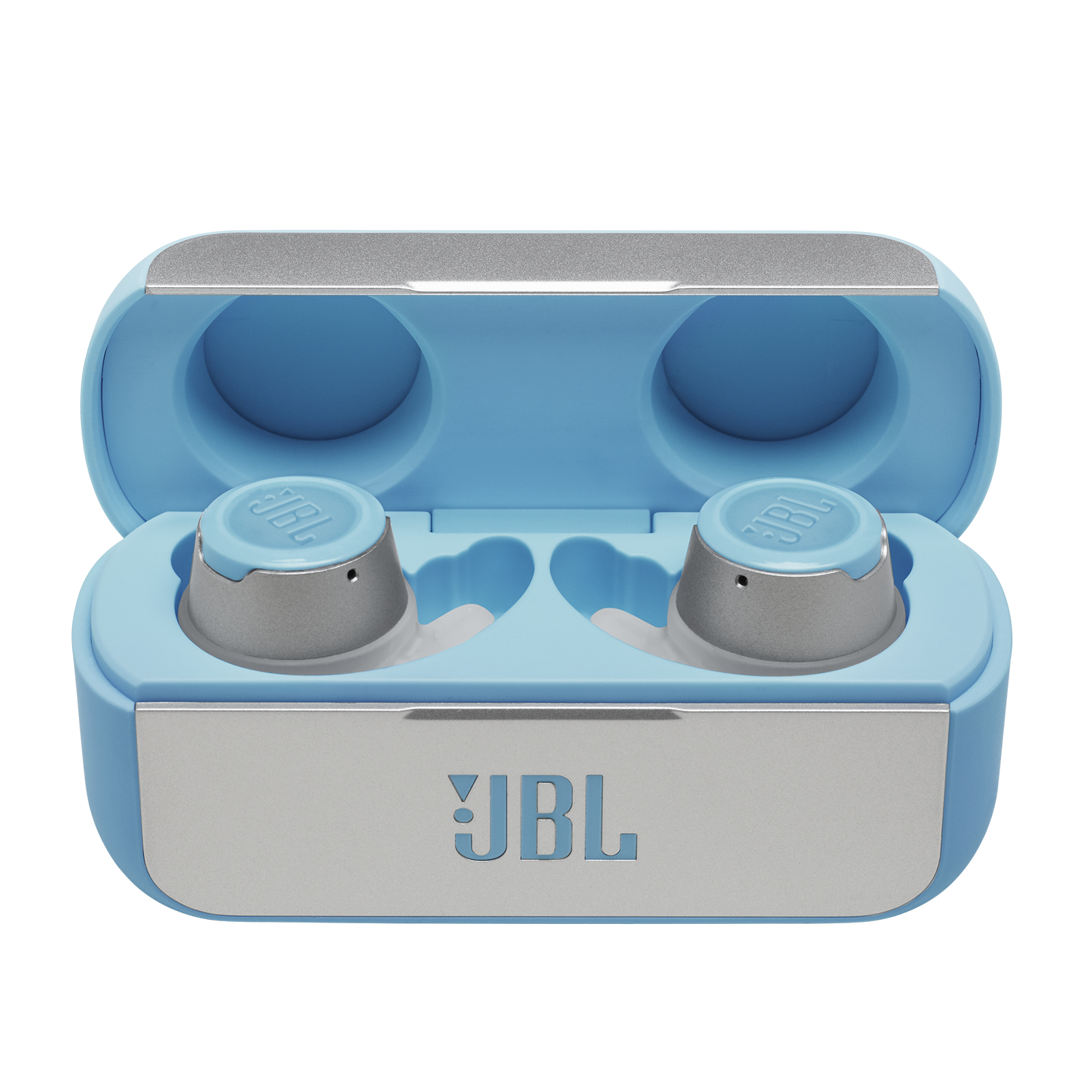 JBL Reflect Flow - Teal - True wireless sport headphones. - Hero