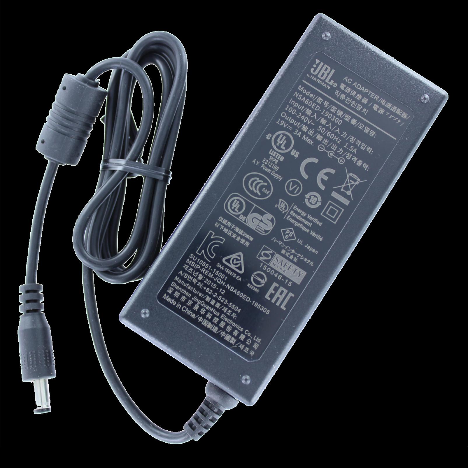 Power adapter, JBL Xtreme - Black - Hero