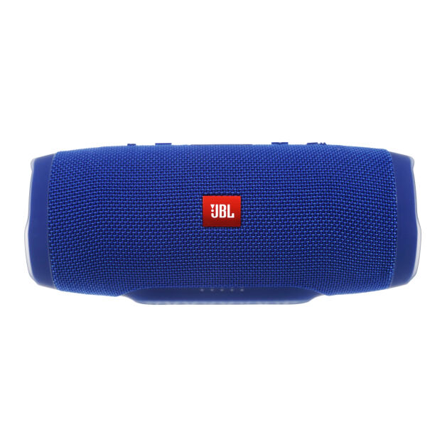 JBL Charge 3 - Blue - Full-featured waterproof portable speaker with high-capacity battery to charge your devices - Detailshot 15