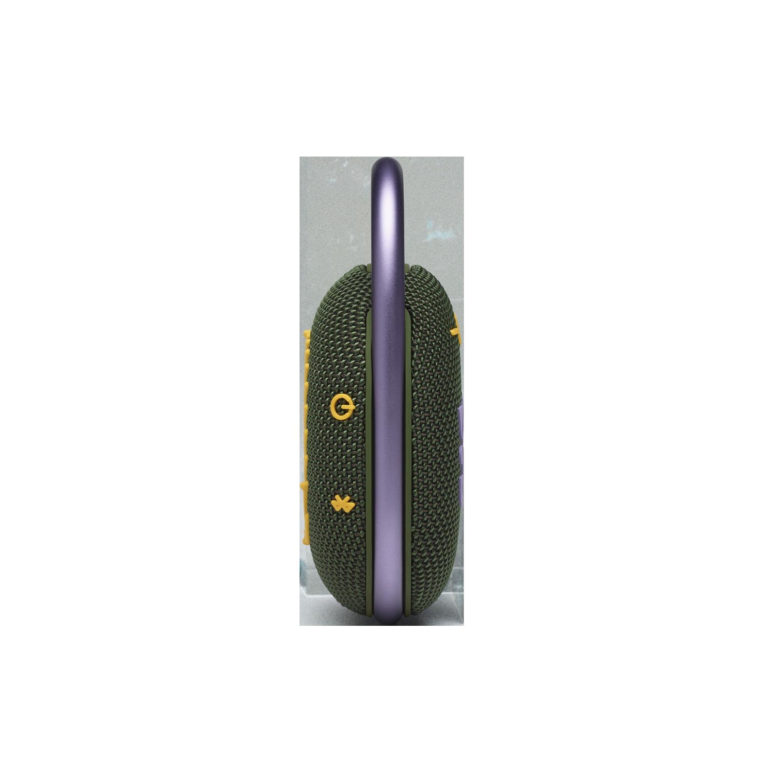 JBL CLIP 4 - Green - Ultra-portable Waterproof Speaker - Left