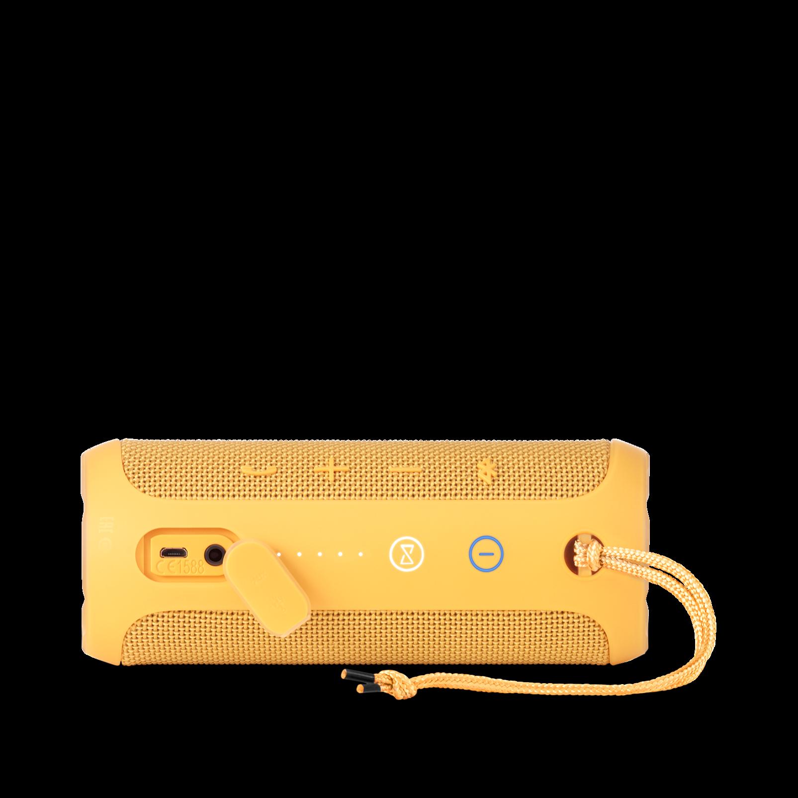 JBL Flip 3 - Yellow - Splashproof portable Bluetooth speaker with powerful sound and speakerphone technology - Detailshot 3