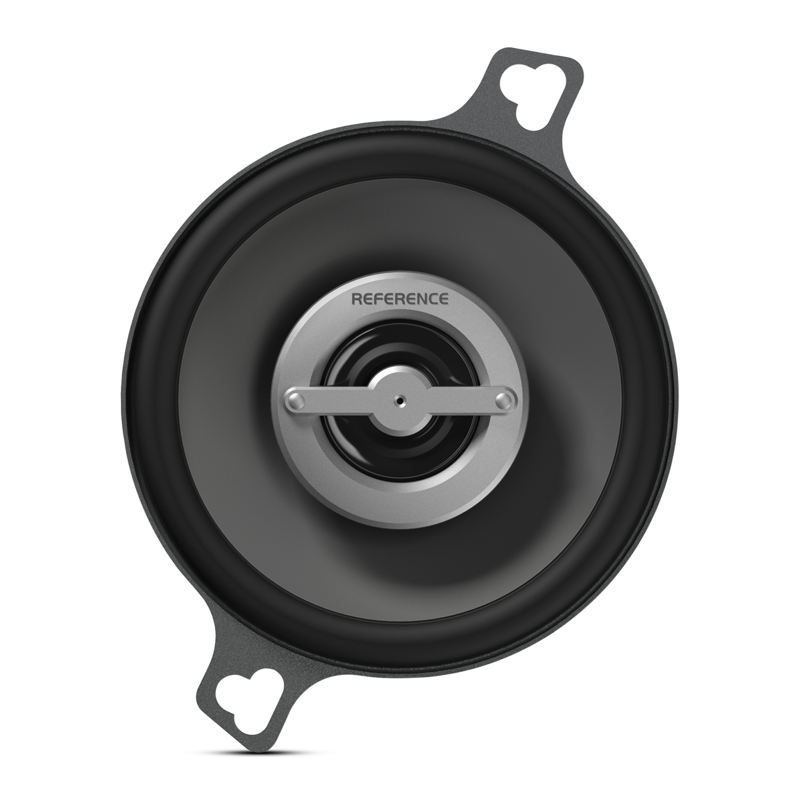 "Reference 3002cfx - Black - A 3-1/2"" (87mm), custom-fit, two-way high-fidelity coaxial speaker with true 4-ohm technology - Front"
