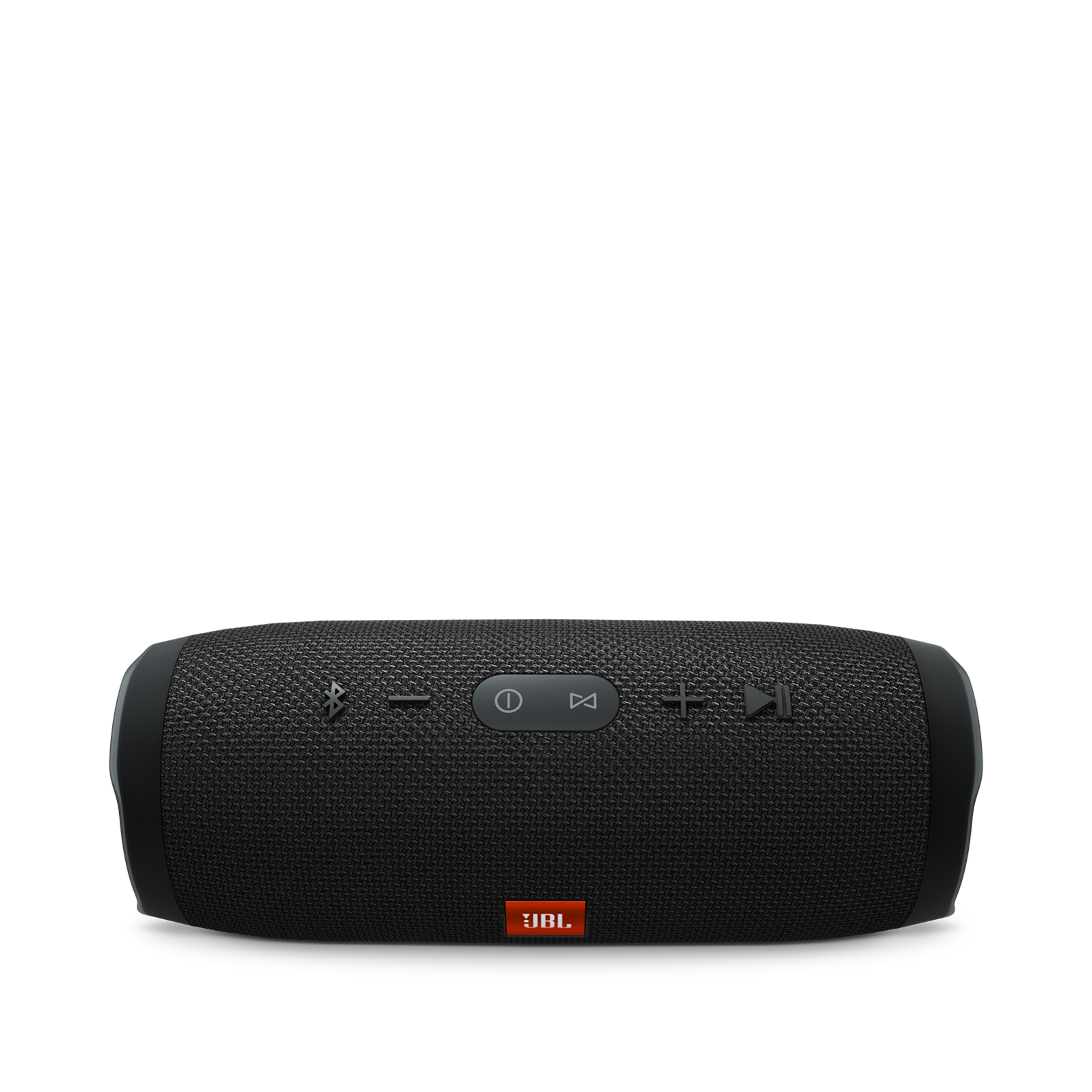 JBL Charge 3 - Black - Full-featured waterproof portable speaker with high-capacity battery to charge your devices - Detailshot 2