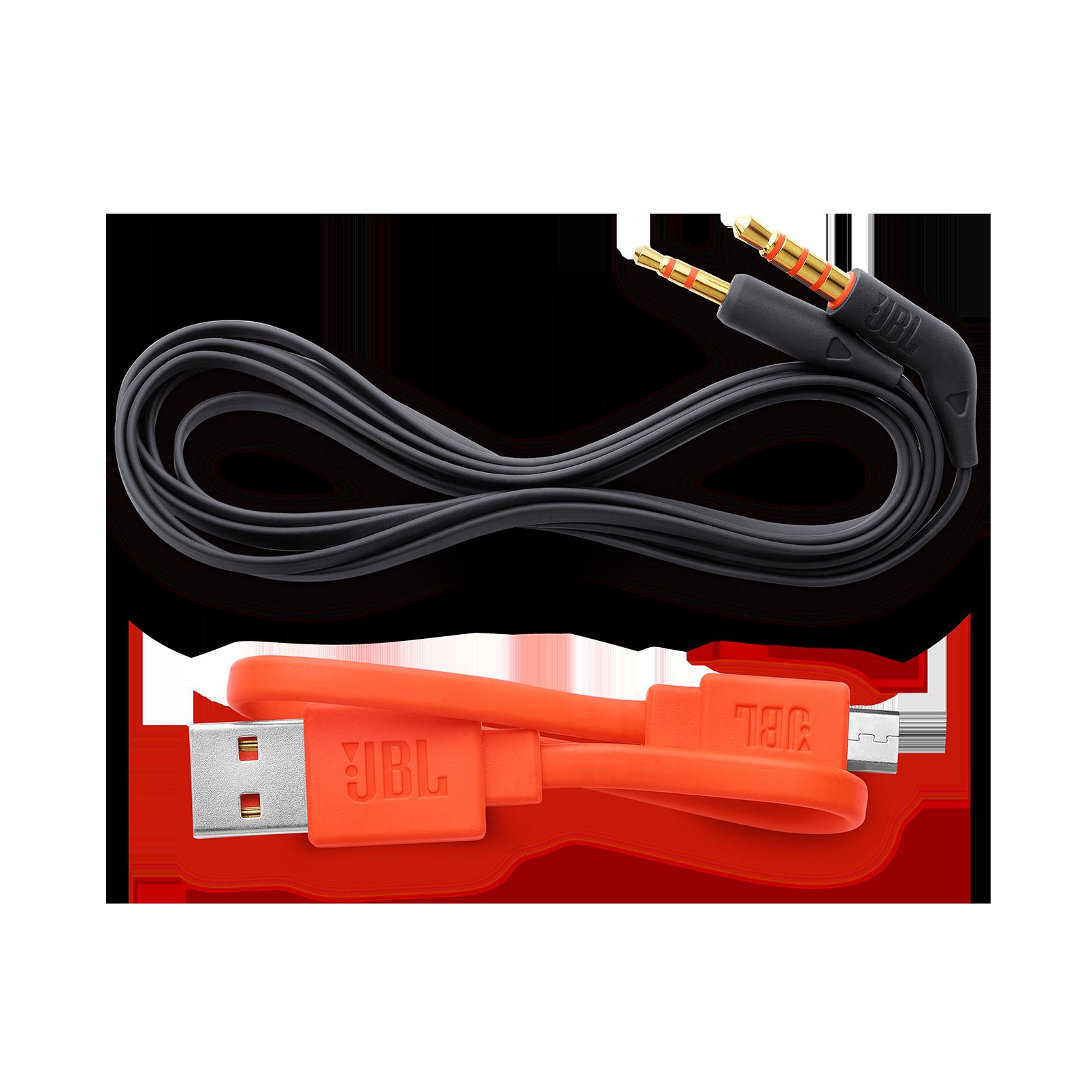 JBL TUNE 600BTNC - Black - Wireless, on-ear, active noise-cancelling headphones. - Detailshot 5