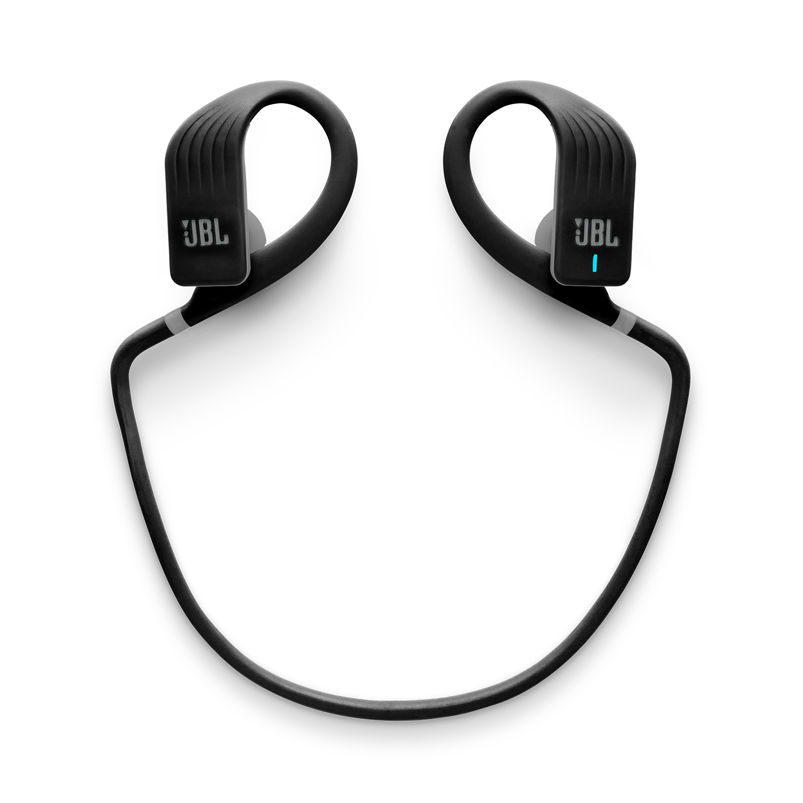 JBL Endurance JUMP - Black - Waterproof Wireless Sport In-Ear Headphones - Detailshot 2