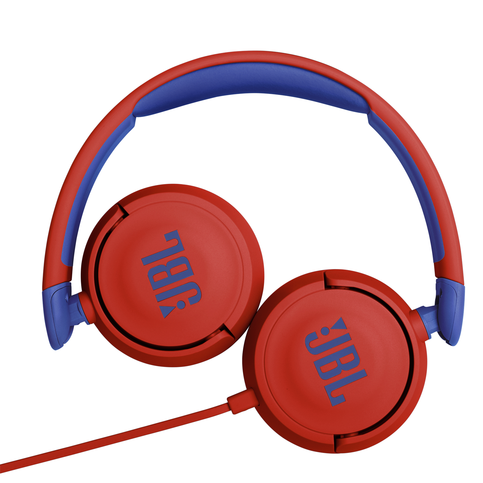 JBL Jr310 - Red - Kids on-ear Headphones - Detailshot 3