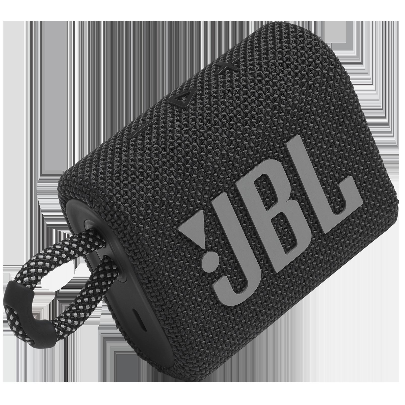 JBL Go 3 - Black - Portable Waterproof Speaker - Detailshot 1