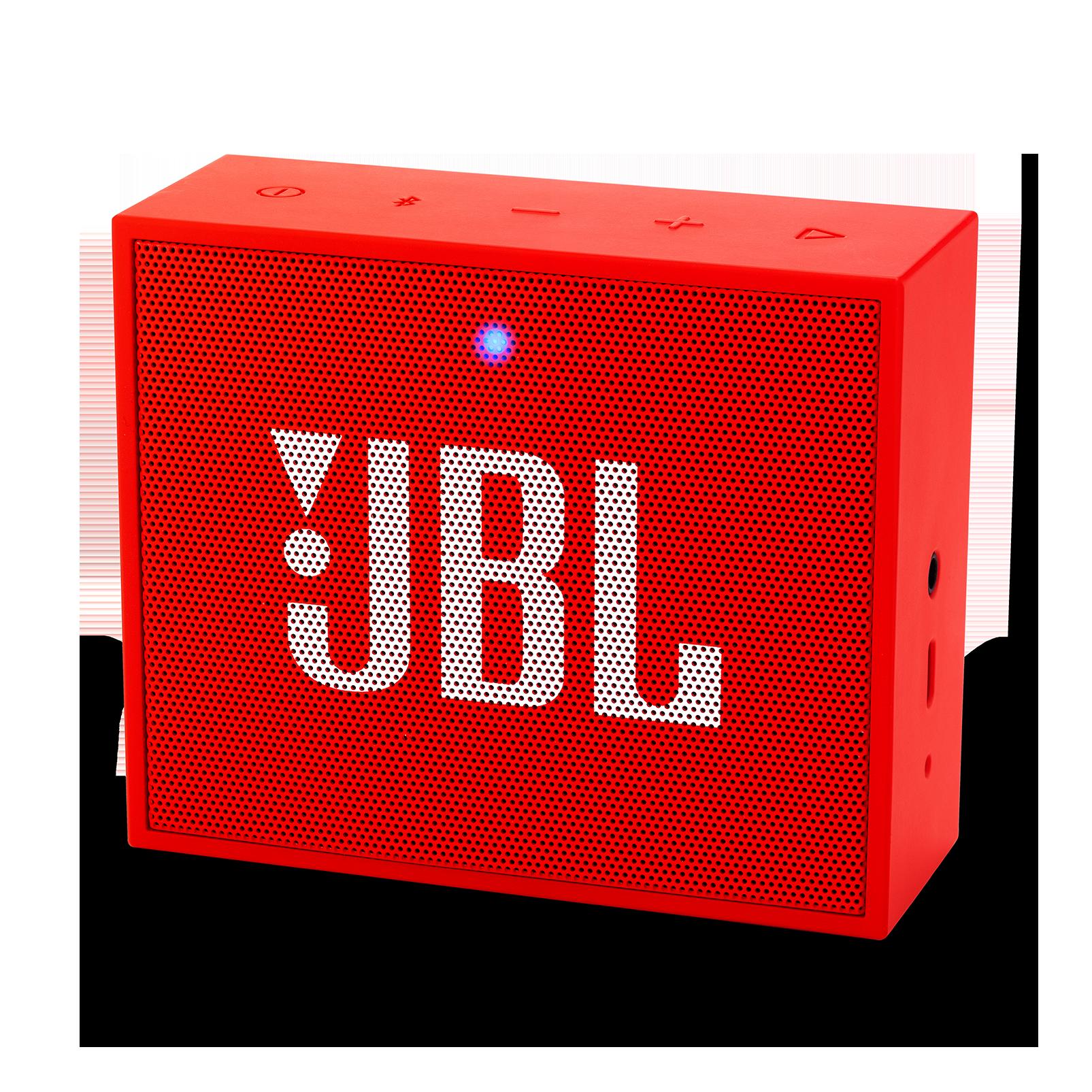 JBL GO+ - Red - Portable Bluetooth® Speaker - Hero