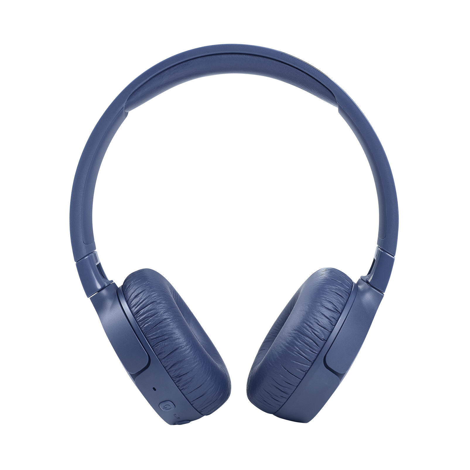 JBL Tune 660NC - Blue - Wireless, on-ear, active noise-cancelling headphones. - Front
